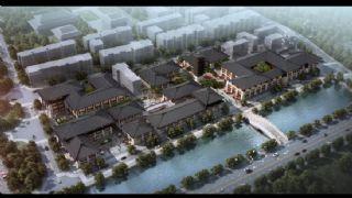 汉代古建商业街,钟楼,拱桥(网盘下载)