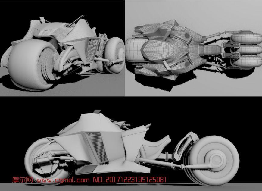 原创概念摩托,重机车,游戏角色坐骑