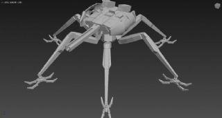 建御雷神,六足机器人