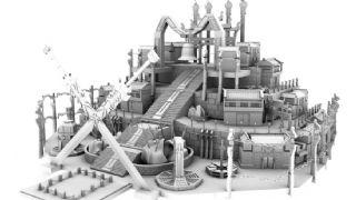 天墉城-超大maya场景