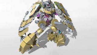 机器人模型原创