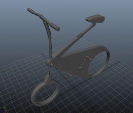 maya概念自行车