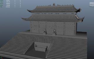 古代寺庙建筑
