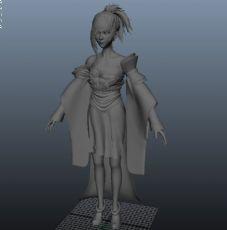 女刺客,古代美女,写实角色