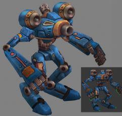 长臂机器人,攻击,奔跑,走路等动作
