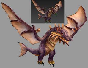 飞龙怪物max模型,攻击,被攻击,飞行动作
