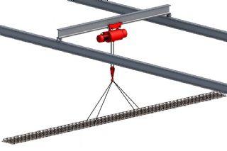 电动葫芦吊装压型板