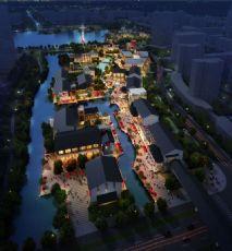 中式园林商业广场建筑模型(网盘下载)