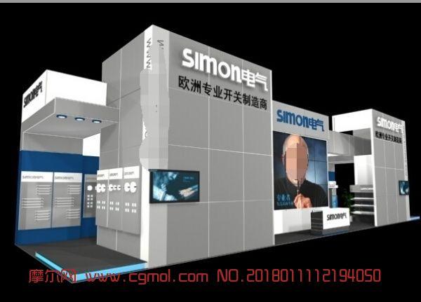 simon电气展厅