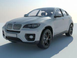 BMW X6汽车su模型