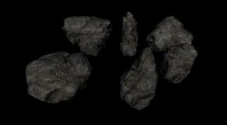 石头,岩石fbx模型