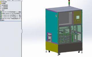 板类自动下料机sldprt模型