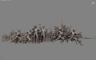 革命戰場沖鋒max模型
