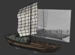 """清前期在""""湖广填川""""的移民商船"""