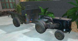 90年代农用四轮车,max,fbx格式,无背景图