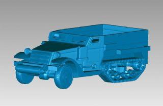 装甲运输车,3D打印模型