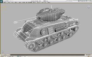 谢尔曼坦克,M4中型坦克max模型