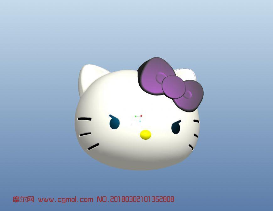 kitty貓藍牙音箱,stp格式