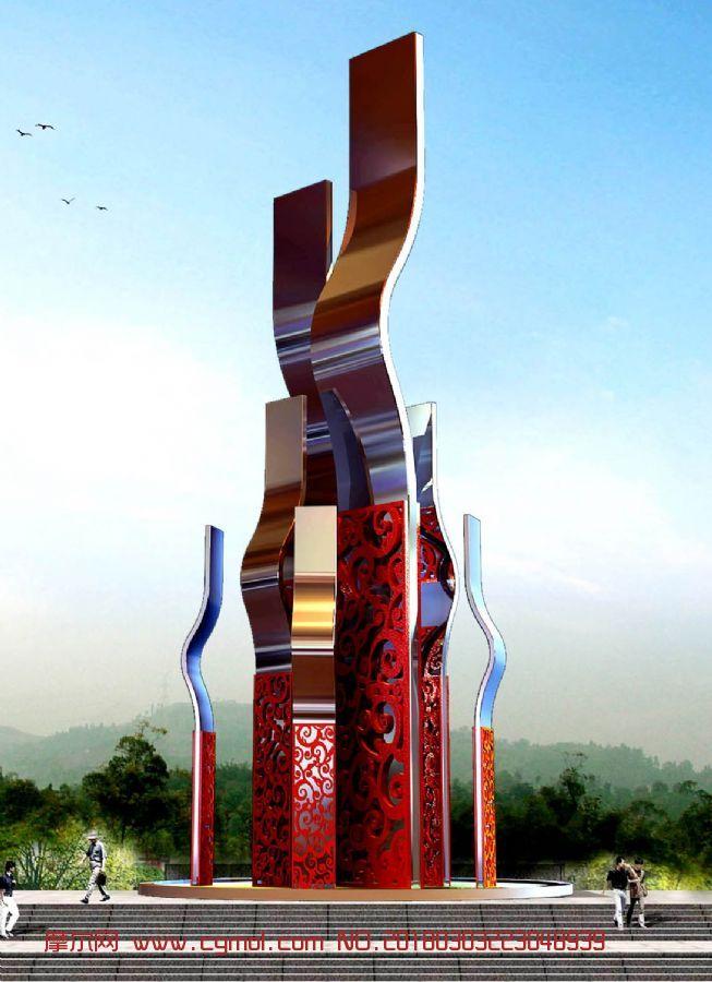 聚合雕塑设计