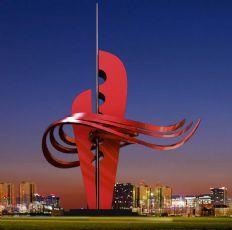 意气风发雕塑设计