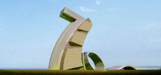 70周年城市雕塑�O�max模型