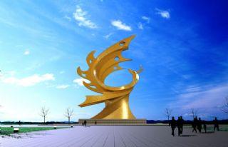 凤凰艺术雕塑