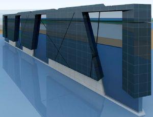 三角形艺术大楼公建设计