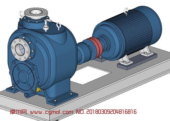 自吸式离心泵su模型