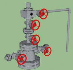 油井抽油输油设备管道