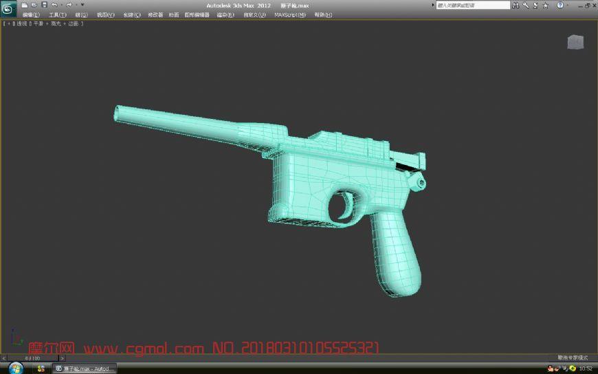 匣子枪,驳壳枪模型