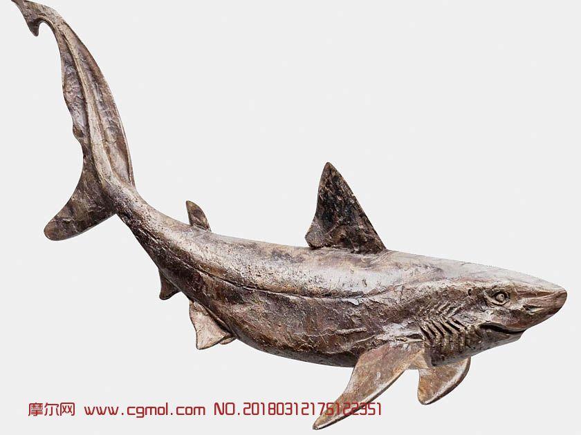 远古鲨鱼max模型