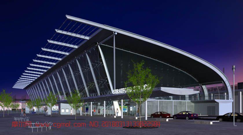 斯特拉特福德车站设计(网盘下载)