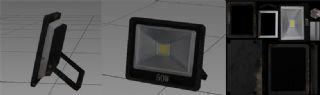 工业照明灯,影视照明灯,展厅墙灯简模