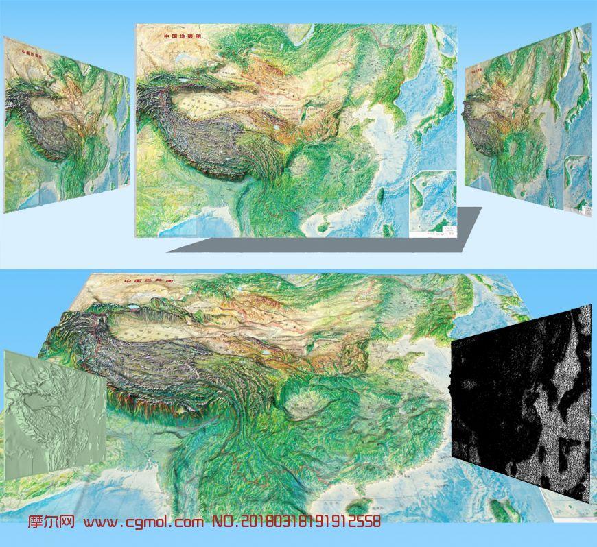 中��地�莞吒〉�3D模型