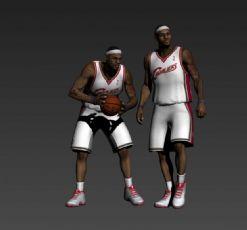詹姆斯篮球员max模型