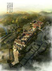 中式古建文庙max模型,无绿植,单建筑