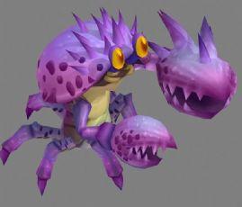 螃蟹特尼怪,带部分动画