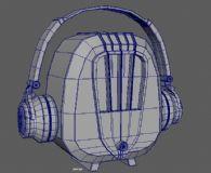 音响,耳机maya模型
