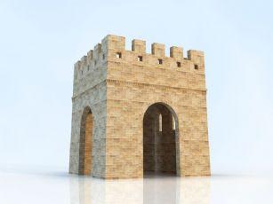 烽火台max模型