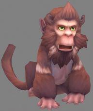 爪努斯猴怪,带攻击,奔跑动画