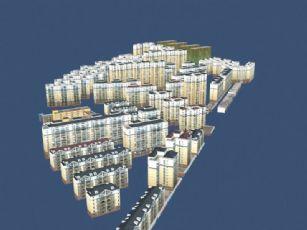 数字城市整体模型