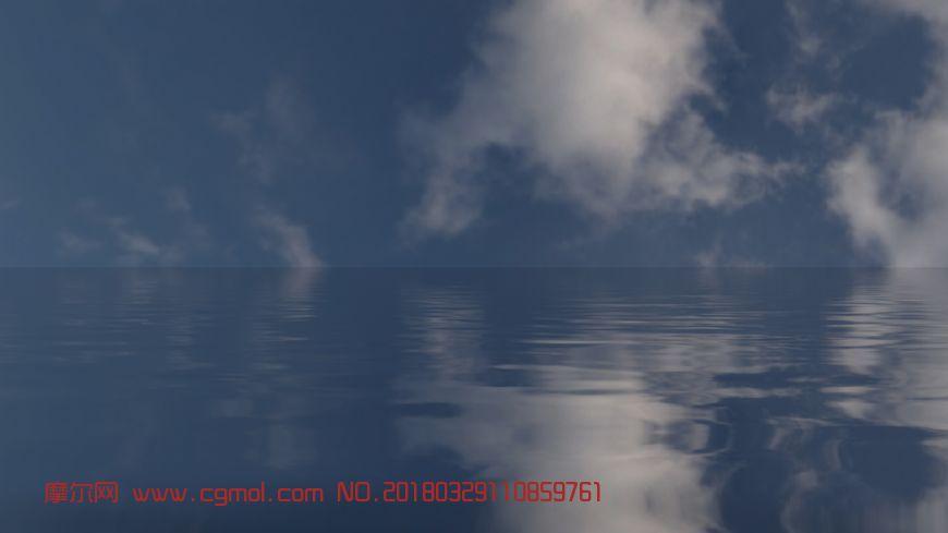 海面水波荡漾动画