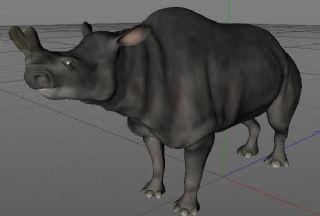 王雷兽C4D模型