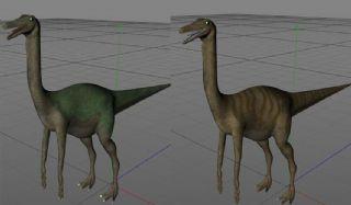 Gallimimus似鸡龙C4D模型