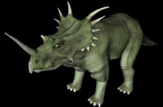 Styracosaurus戟龙C4D模型