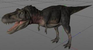Tarbosaurus塔博龙,特暴龙C4D模型