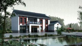 中式新农村小别墅max模型,只有别墅模型