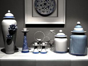 现代新中式陶瓷罐组合