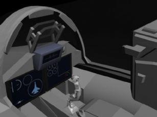 苏25战斗机驾驶舱