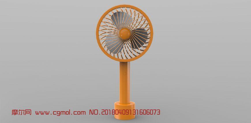 风扇3D模型,mb,obj,fbx三种格式